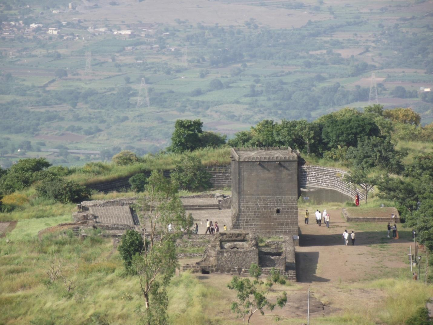 Shivneri Fort, near Pune, Maharashtra by Wikipedia