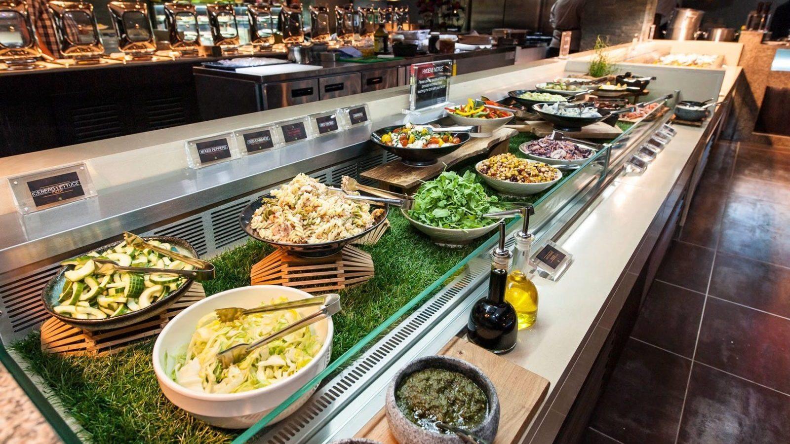 Buffet restaurants