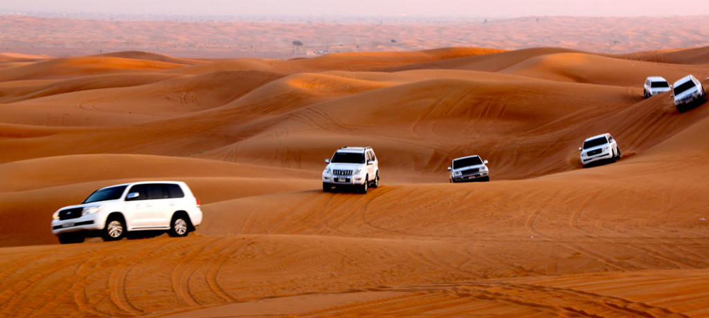 Dubai, Glittering Like A Pearl Amid The Golden Sand