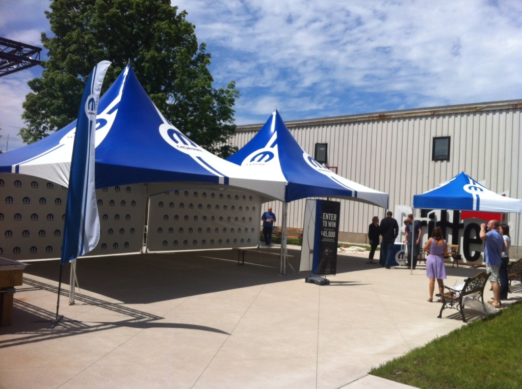 Promotional tents for events