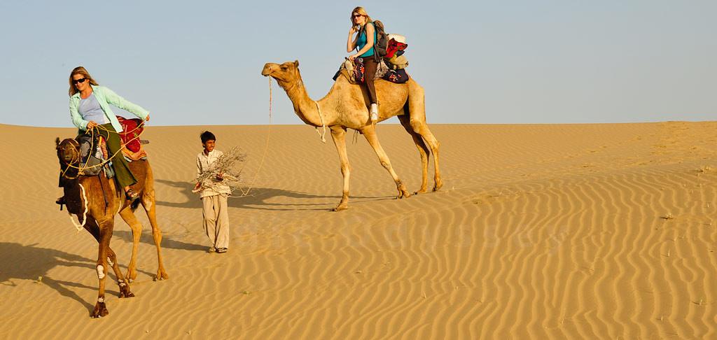 Splendid Suns Blaze In The Charming Deserts Of Rajasthan
